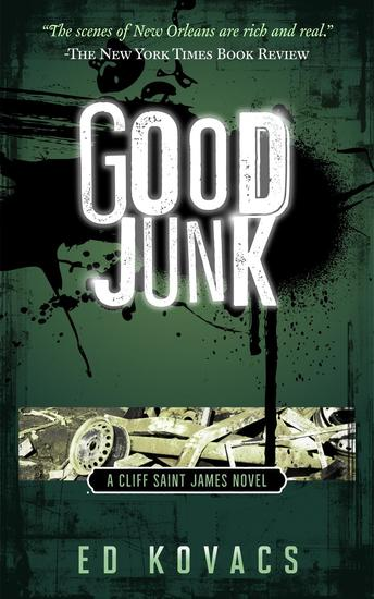 Good Junk - Cliff Saint James #2 - cover