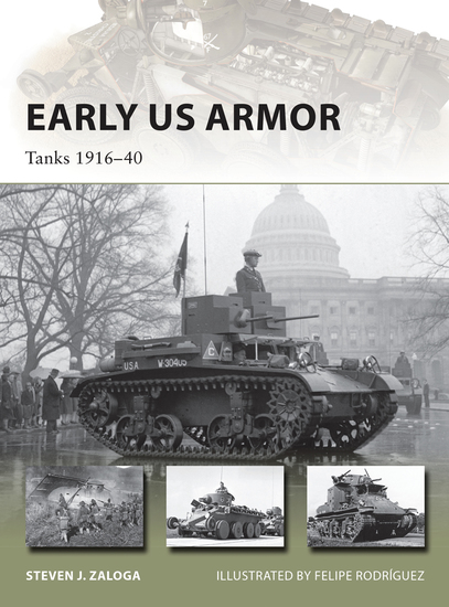 Early US Armor - Tanks 1916–40 - cover