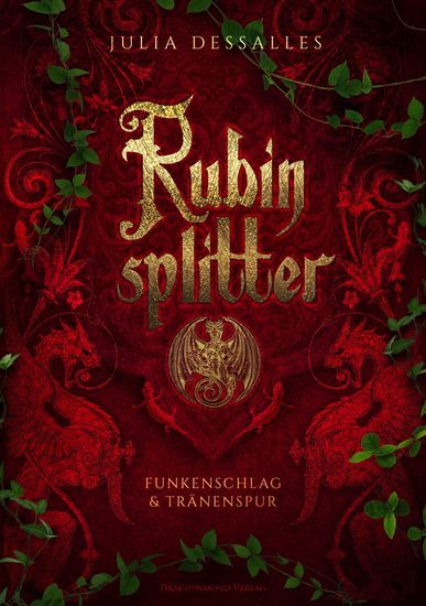 Rubinsplitter - Funkenschlag & Tränenspur - Sammelband - cover