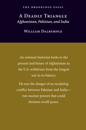 A Deadly Triangle - Afghanistan Pakistan and India - cover