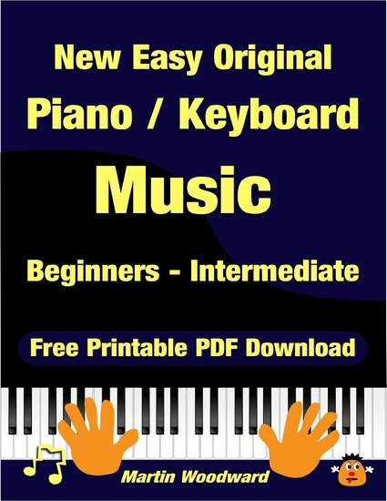 New Easy Original Piano Keyboard Music - Beginners - Intermediate (2nd Edition) - cover