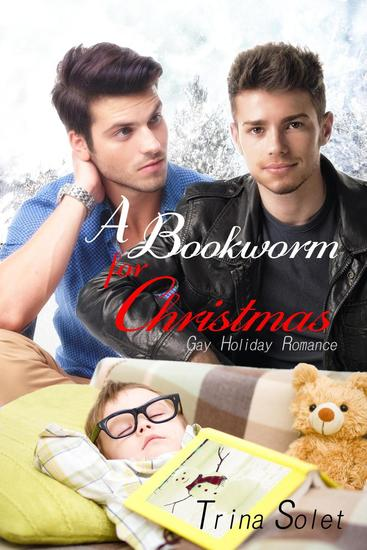 A Bookworm for Christmas (Gay Romance) - cover