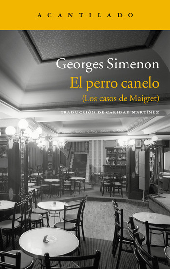 El perro canelo - (Los casos de Maigret) - cover