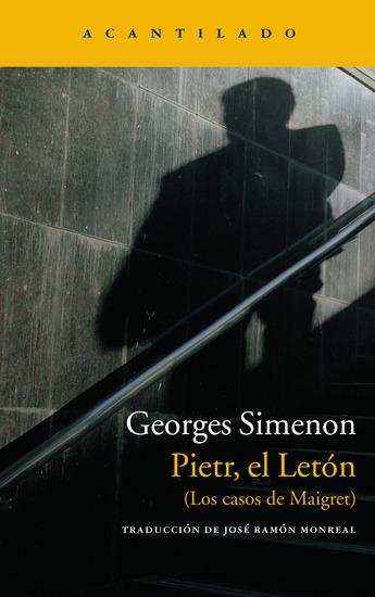 Pietr el Letón - (Los casos de Maigret) - cover