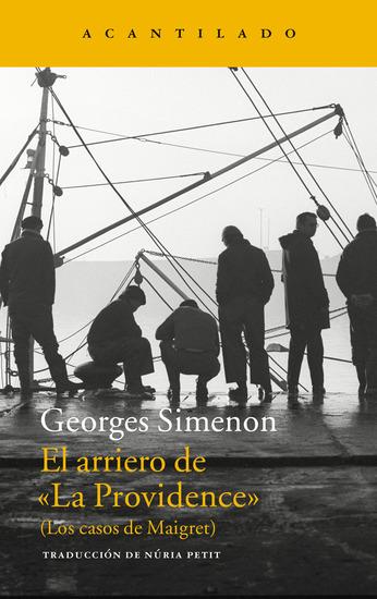 """El arriero de """"La Providence"""" - (Los casos de Maigret) - cover"""