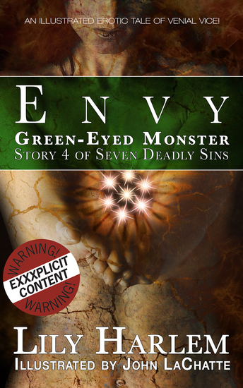 Green-Eyed Monster - An illustrated erotic tale a venial vice - cover