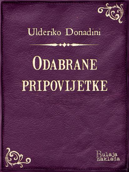 Odabrane pripovijetke - cover