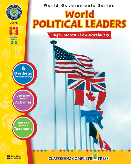 World Political Leaders - cover