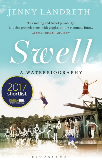 Swell - A Waterbiography The Sunday Times SPORT BOOK OF THE YEAR 2017 - cover