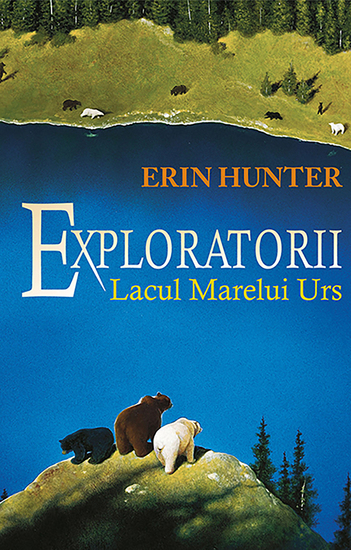Exploratorii Cartea a II a - Lacul Marelui Urs - cover