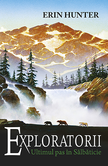 Exploratorii Cartea a IV-a - Ultimul pas în sălbăticie - cover
