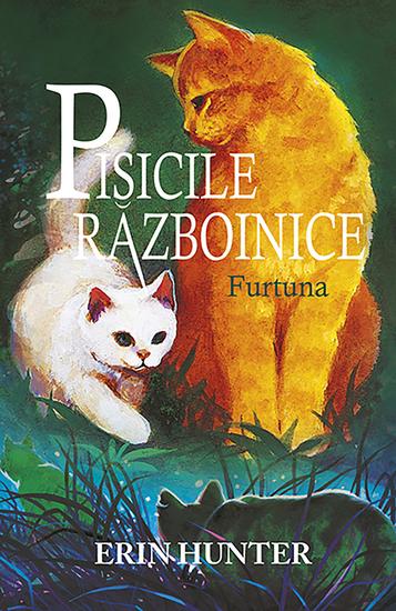 Pisicile razboinice Cartea a IV-a - Furtuna - cover