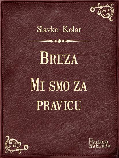Breza - Mi smo za pravicu - cover
