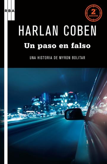 Un palso en falso - Una historia de Myron Bolítar - cover