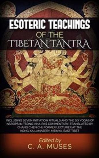 Esoteric Teachings of the Tibetan Tantra - cover