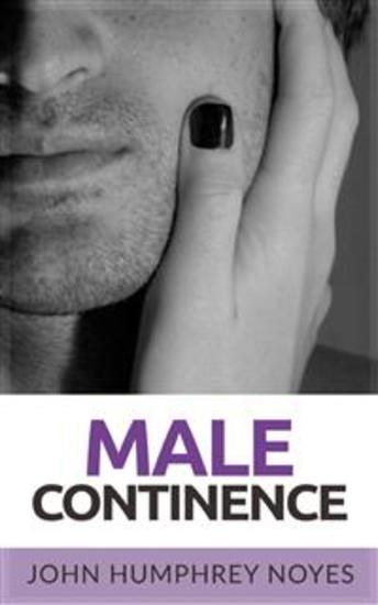 Male Continence - cover