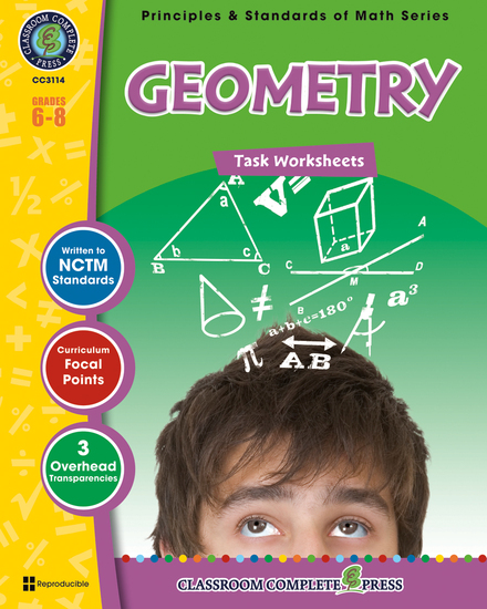 Geometry - Task Sheets Gr 6-8 - cover