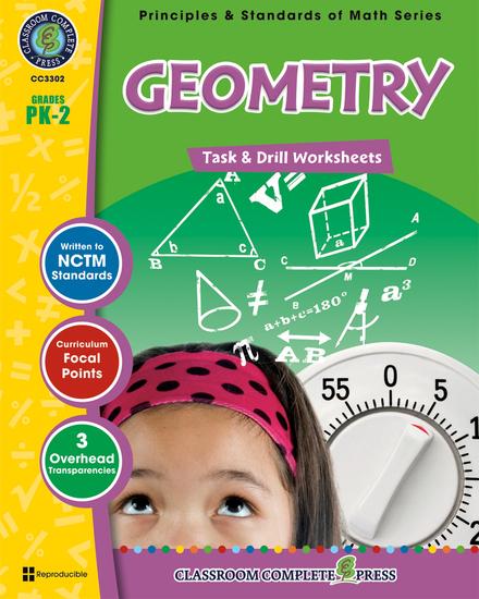 Geometry - Task & Drill Sheets Gr PK-2 - cover