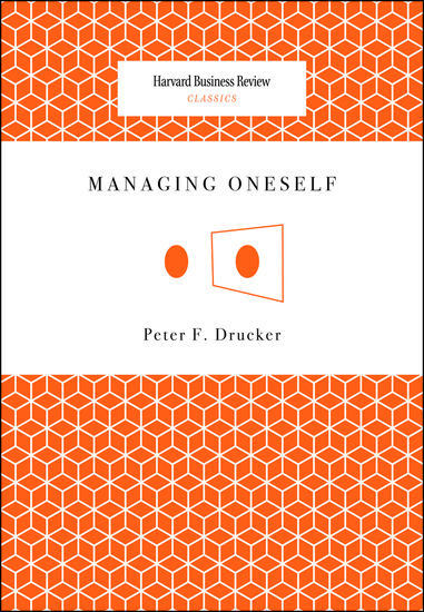 Managing Oneself - cover