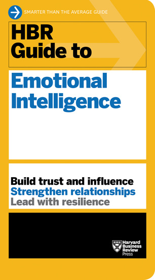 HBR Guide to Emotional Intelligence (HBR Guide Series) - cover