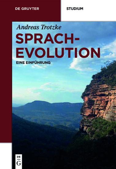 Sprachevolution - Eine Einführung - cover