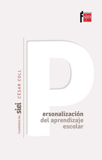 La personalización del aprendizaje escolar - cover