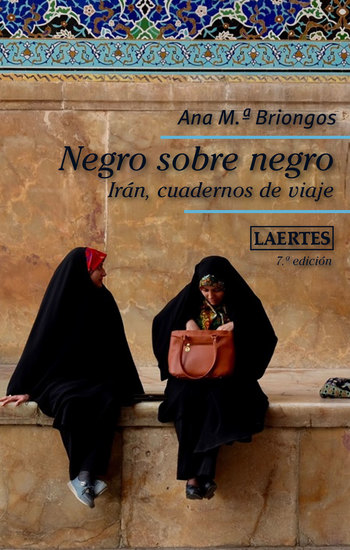 Negro sobre negro - Irán cuadernos de viaje - cover