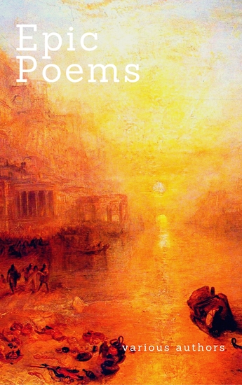 Epic Poems (Zongo Classics) - The Iliad And The Odyssey The Aeneid Paradise Lost - cover