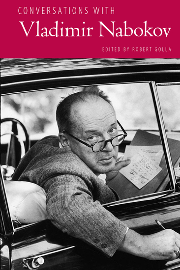 Conversations with Vladimir Nabokov - cover