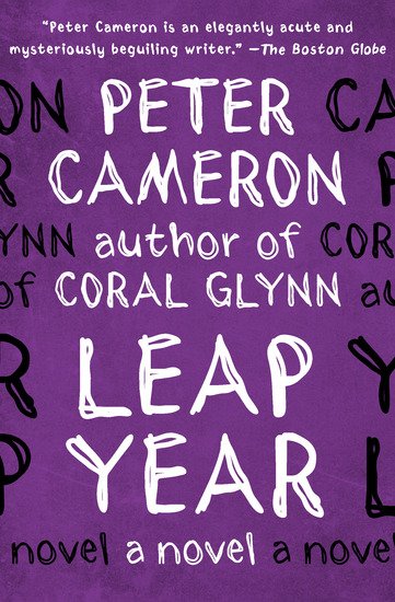 Leap Year - A Novel - cover