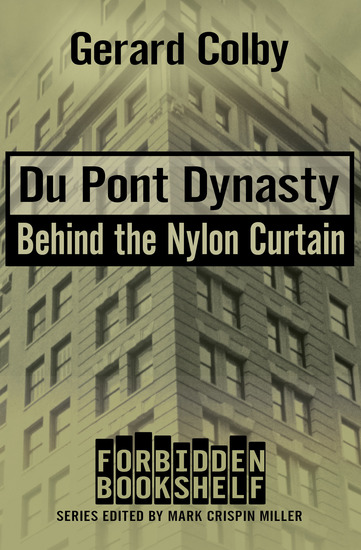 Du Pont Dynasty - Behind the Nylon Curtain - cover