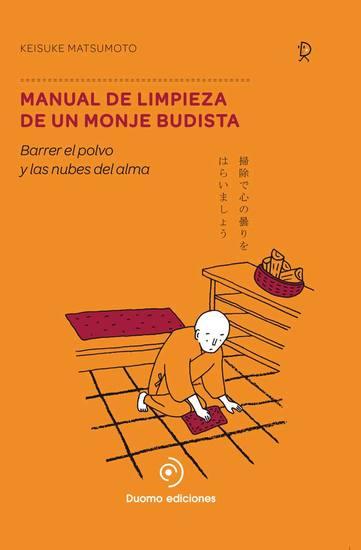 Manual de limpieza de un monje budista - cover