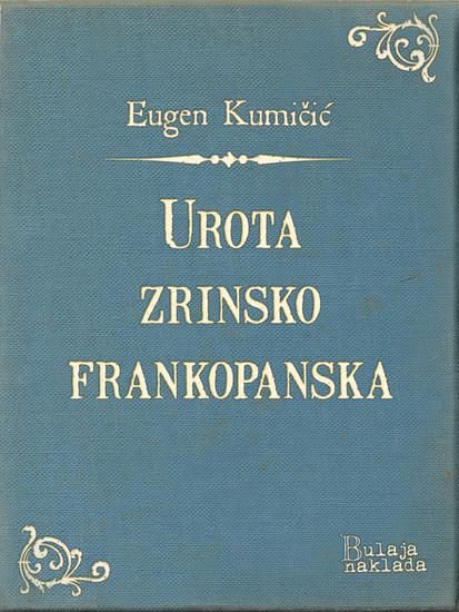 Urota zrinsko-frankopanska - cover