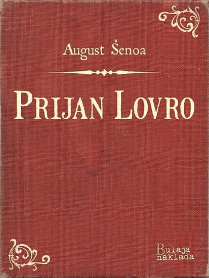 Prijan Lovro - cover