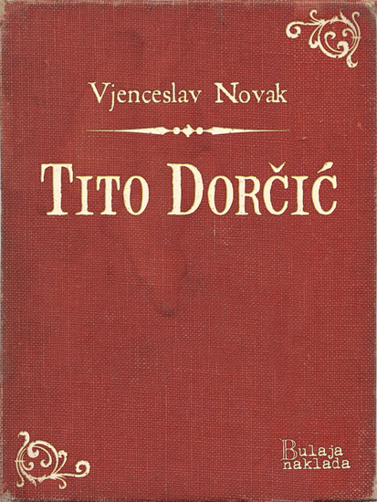 Tito Dorčić - cover