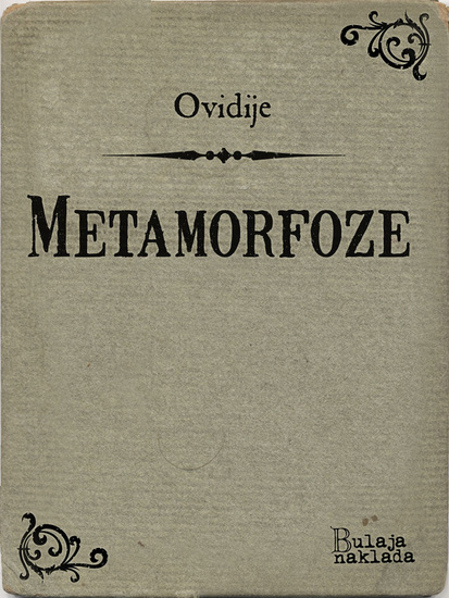 Metamorfoze - cover