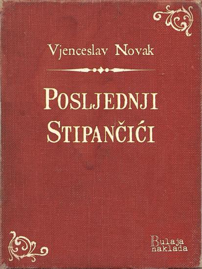 Posljednji Stipančići - cover