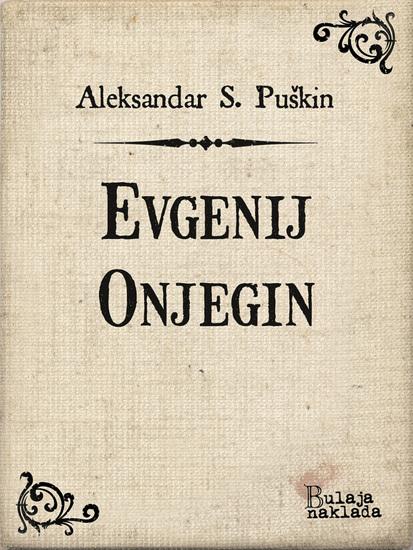 Evgenij Onjegin - roman u stihovima - cover