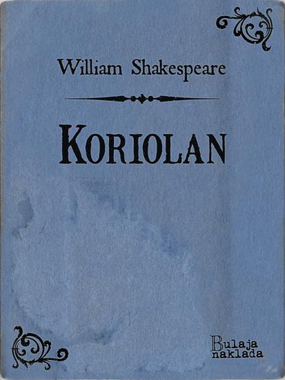 Koriolan - cover