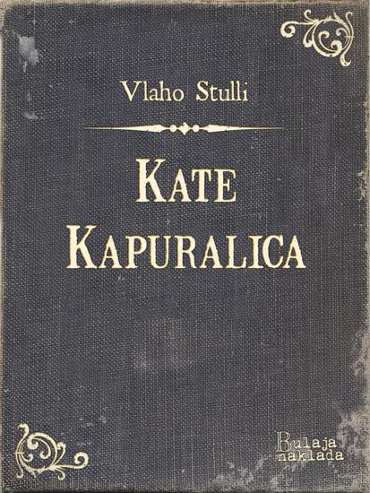 Kate Kapuralica - cover