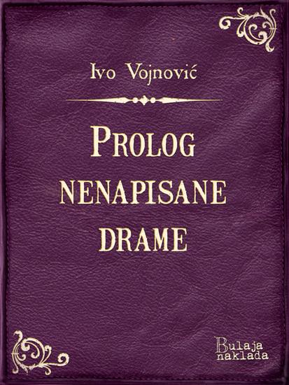 Prolog nenapisane drame - cover