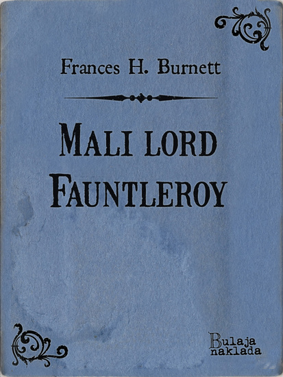 Mali lord Fauntleroy - cover