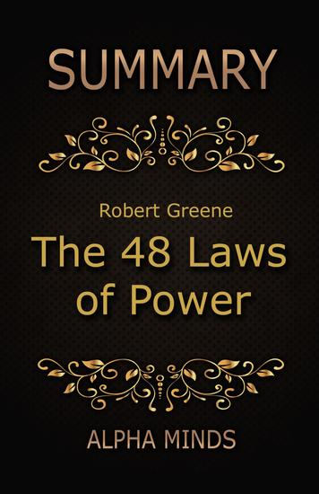 Summary: The 48 Laws of Power by Robert Greene - cover
