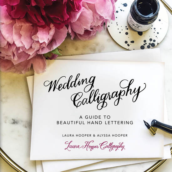 Wedding Calligraphy - A Guide to Beautiful Hand Lettering - cover
