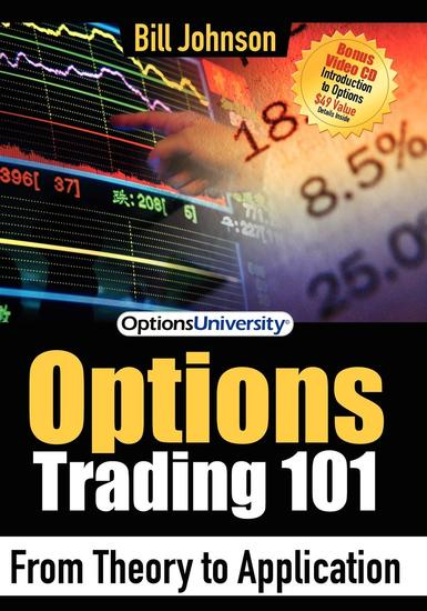 Options Trading 101 - From Theory to Application - cover