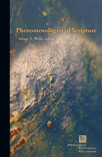 Phenomenologies of Scripture - cover