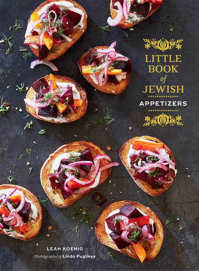 Little Book of Jewish Appetizers - cover