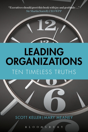Leading Organizations - Ten Timeless Truths - cover