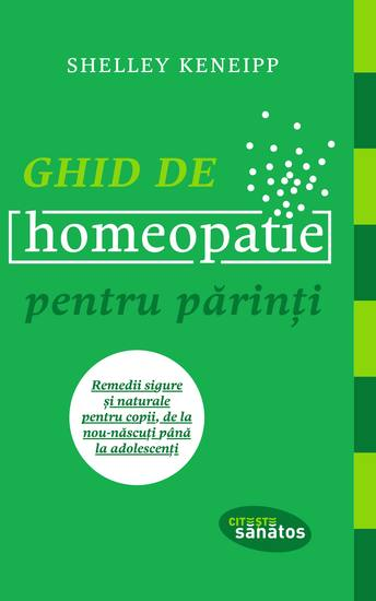 Ghid de homeopatie pentru părinți - cover