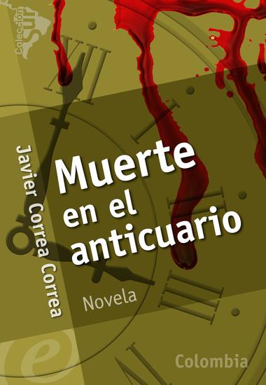 Muerte en el anticuario - cover